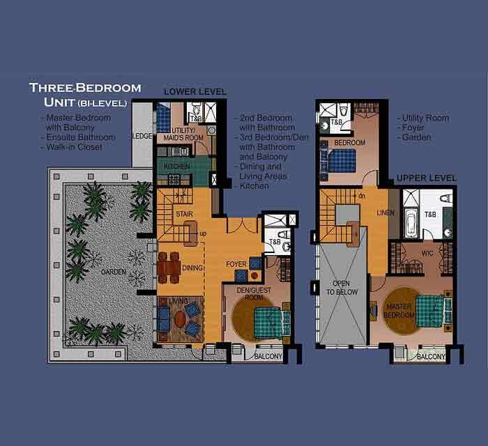 La Breza Tower - 3rd Bedroom Unit