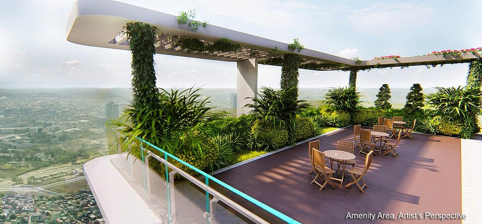 Lush Residences - Roof Deck