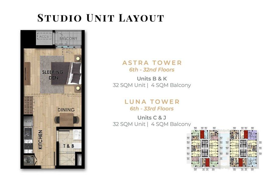 The Fifth Tower - Studio Unit - B, K & C, J
