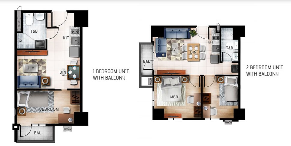 Quantum Residences - 1 BR and 2 BR Unit