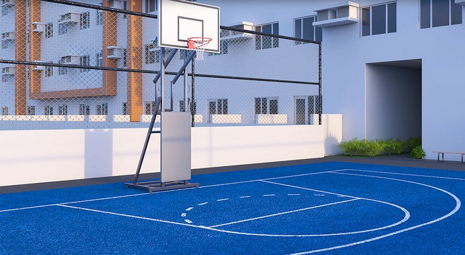 Quantum Residences - Basketball Court