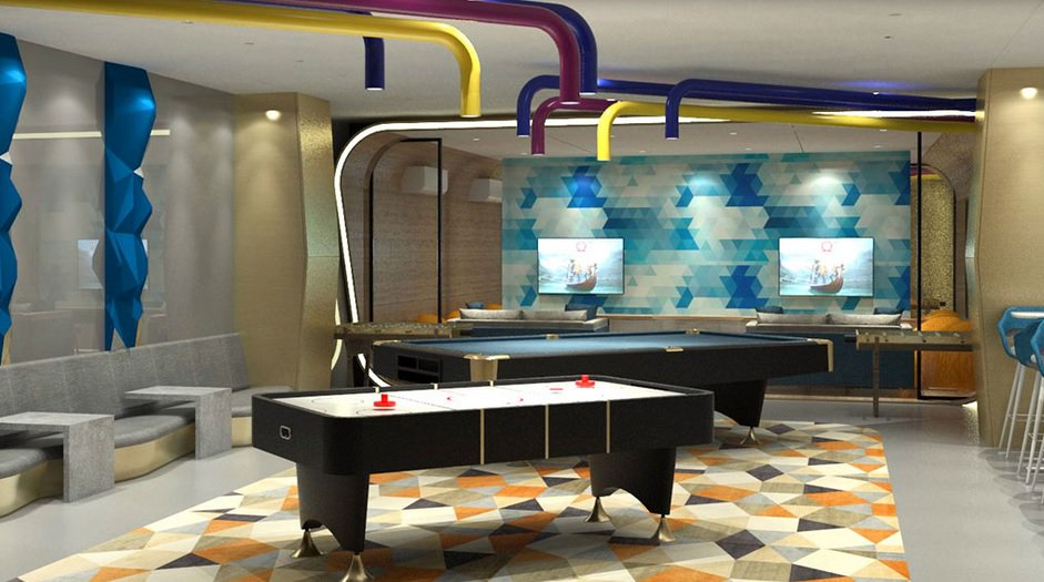 Quantum Residences - Game Room