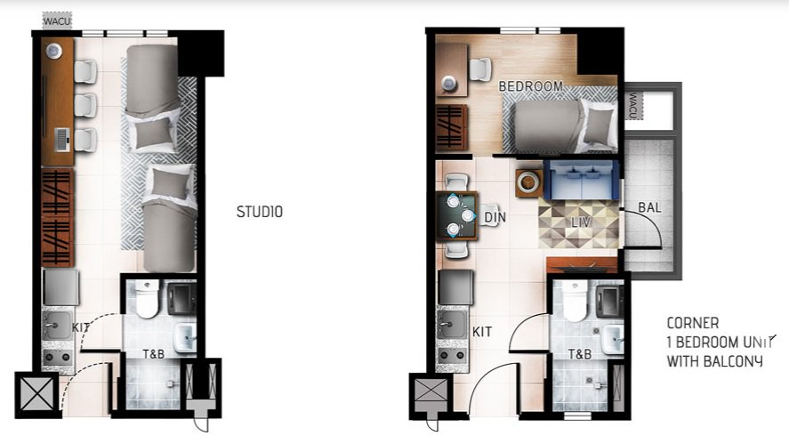Quantum Residences - Studio and 1 BR Unit