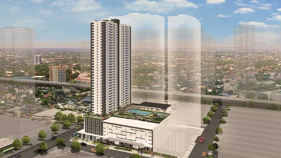 Avida Towers Verge - Aerial View