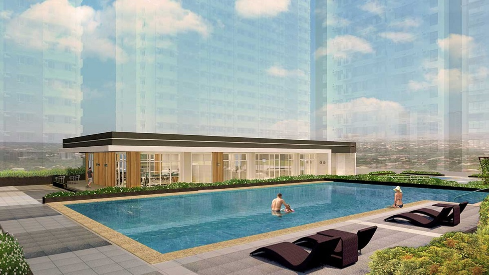 Avida Towers Verge - Clubhouse and Pool