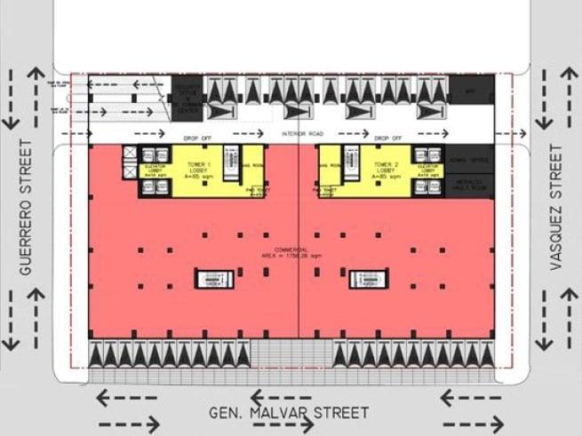 Sky Arts Manila - Ground Floor Layout