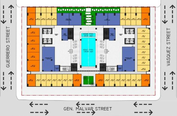Sky Arts Manila - Amenity Area Floor Plan
