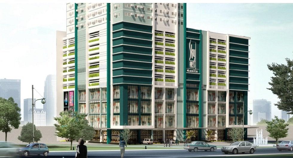 Sky Arts Manila - Building Facade
