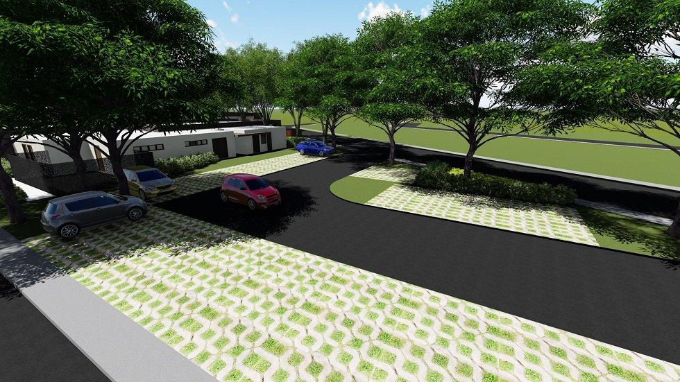 Solviento Villas - Parking Area