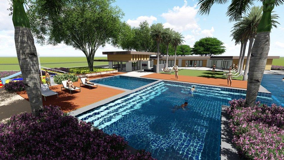 Solviento Villas - Pool Area