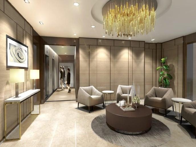 Valencia Hills - Reception Lobby