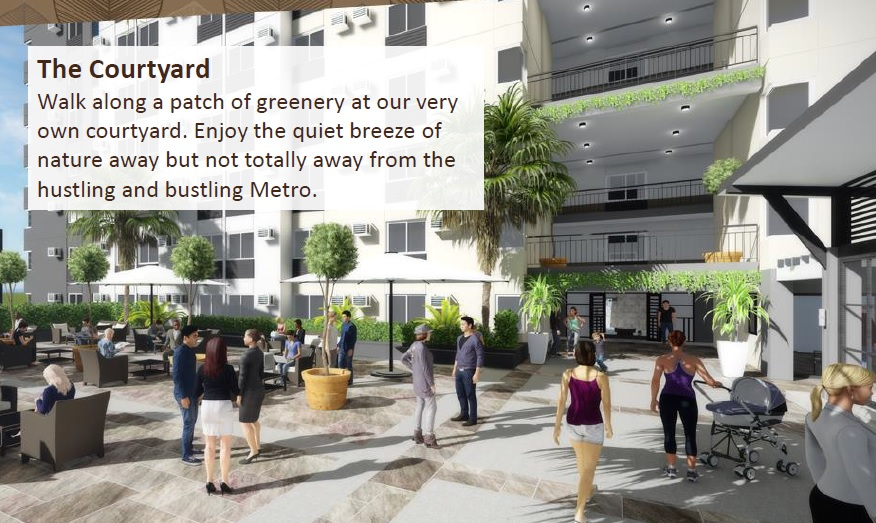 Ananda Square - The Courtyard