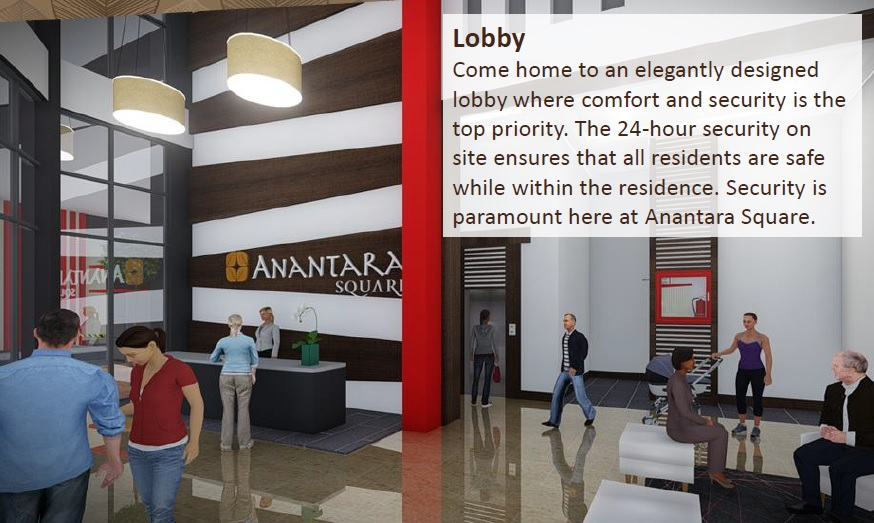 Ananda Square - Lobby