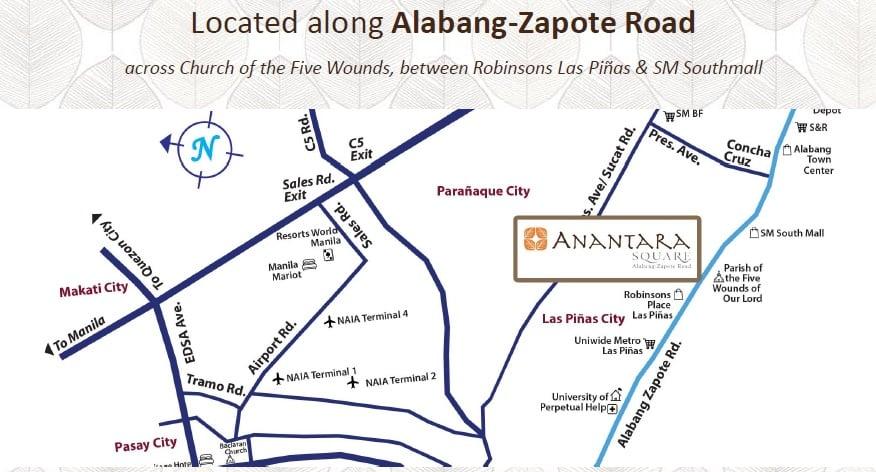 Ananda Square - Location Map