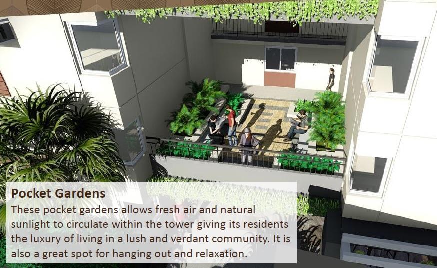 Ananda Square - Pocket Gardens