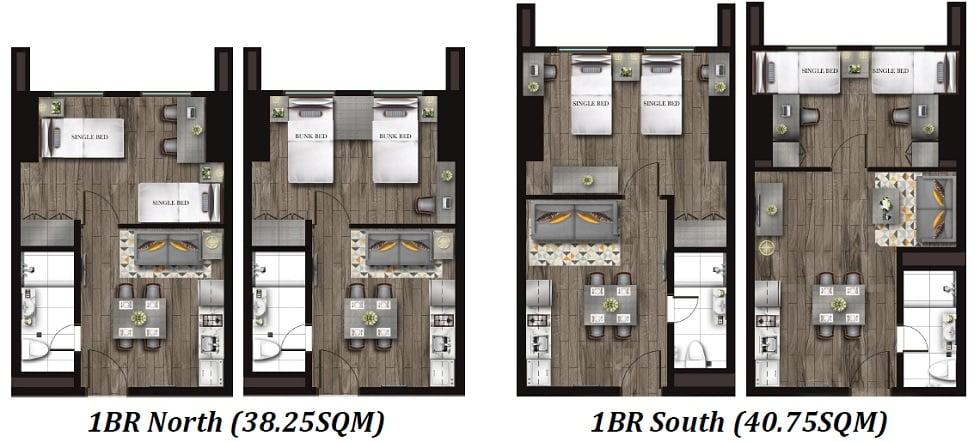 Torre Lorenzo Loyola - 1 Bedroom Unit