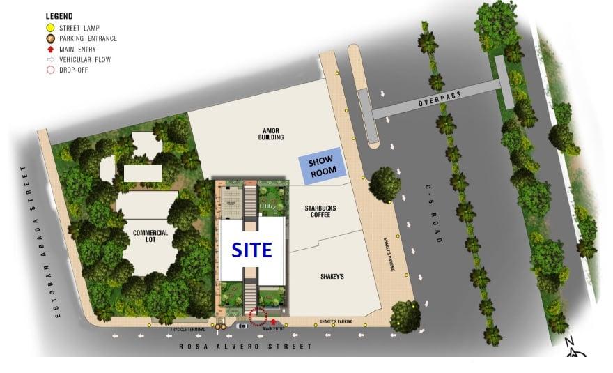 Torre Lorenzo Loyola - Site Development Plan
