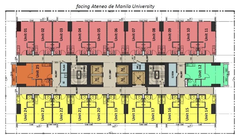 Torre Lorenzo Loyola - Typical Floor Plan