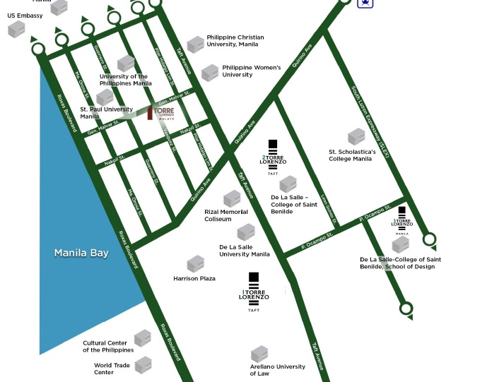 Torre Lorenzo Loyola - Location Map