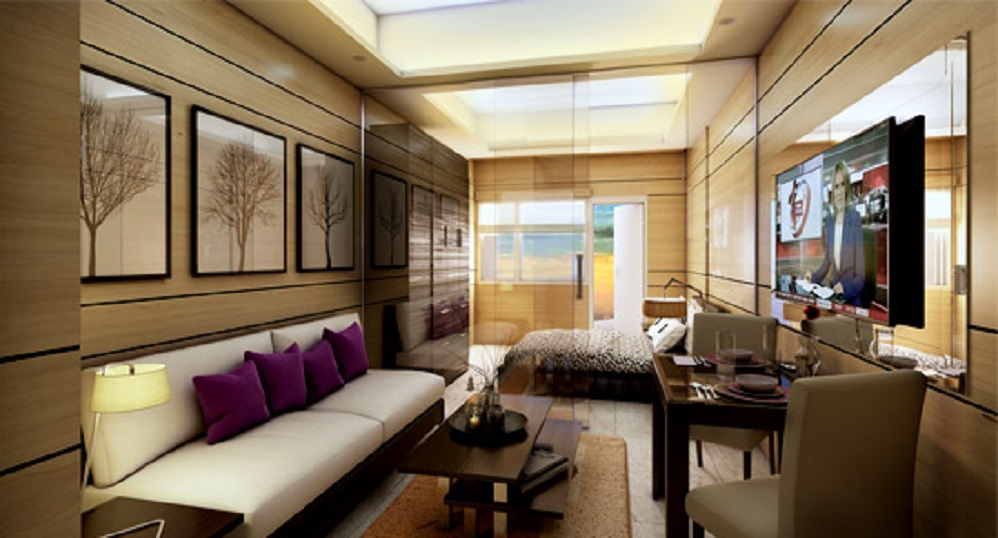 Glam Residences - Living & Dining Area