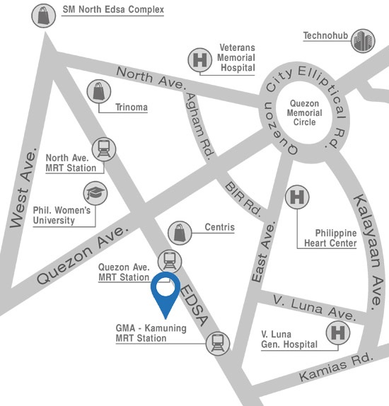 Glam Residences - Location Map