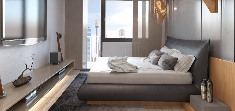 Sail Residences - Bedroom