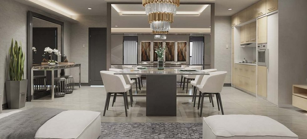 Sail Residences - Dining Area