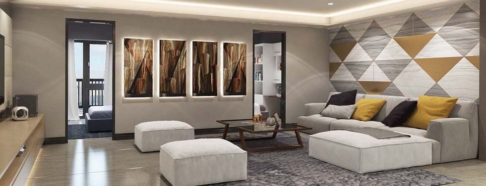Sail Residences - Living Area