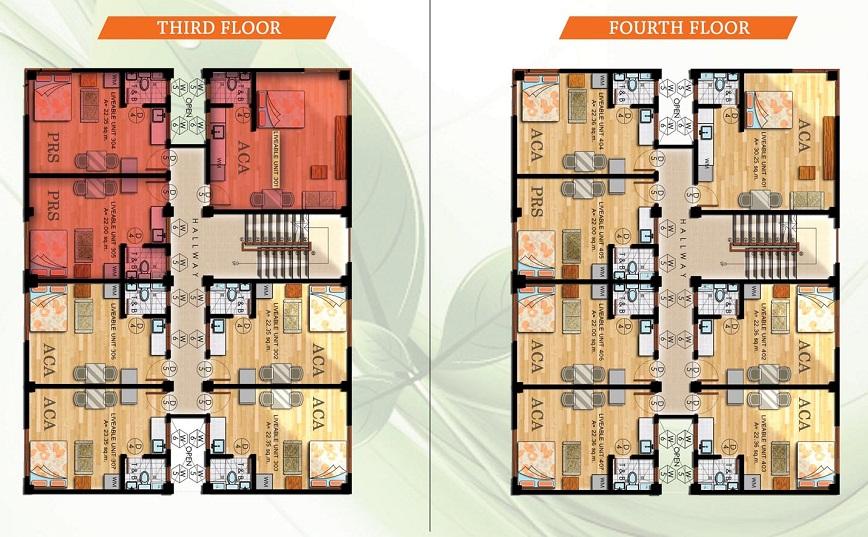Acasys Capitol Condo Villas - Typical Floor Plan
