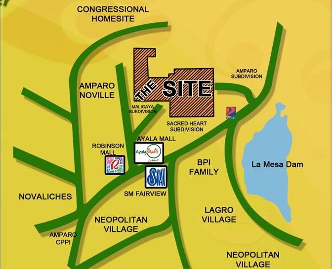 Acasys Capitol Condo Villas - Location Map