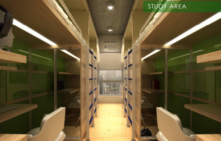 Harvard Suites - Study Area