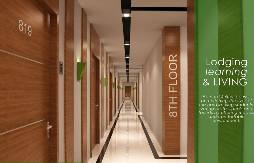Harvard Suites - Hallway