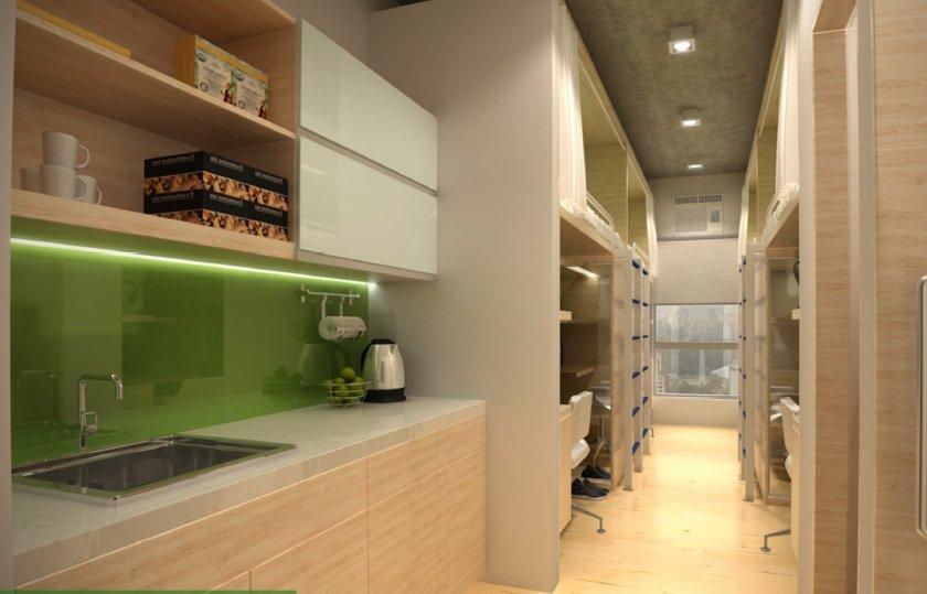 Harvard Suites - Kitchen