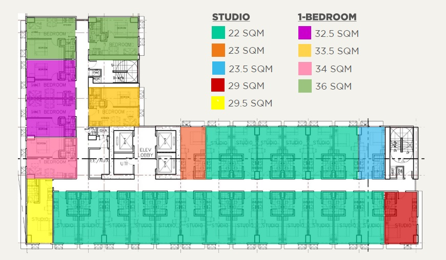 S Tower At SYNC - Studio and 1 BR Layout