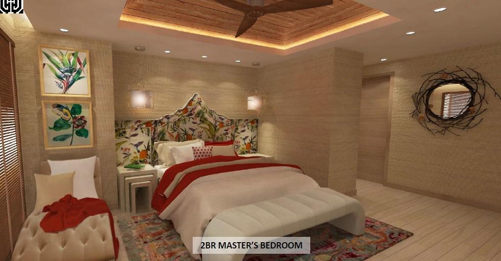 Mi Casa - 2 BR Master's Bedroom