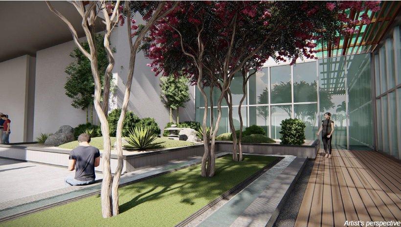 Grand Midori Ortigas - Landscape Area with Lounge