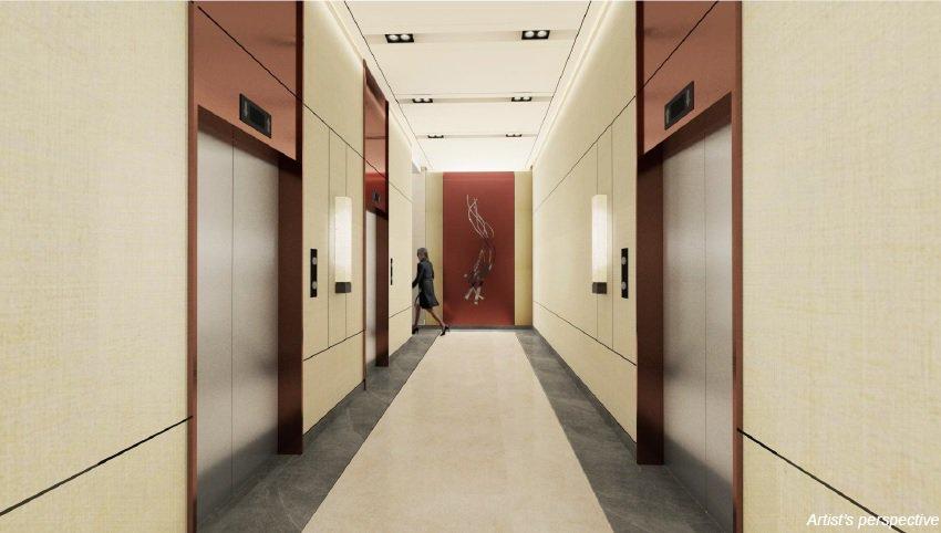 Grand Midori Ortigas - Lift Lobby