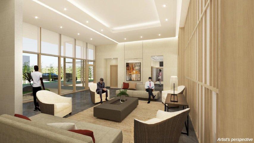 Grand Midori Ortigas - Lounge Area
