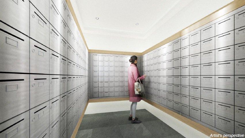 Grand Midori Ortigas - Mail Room