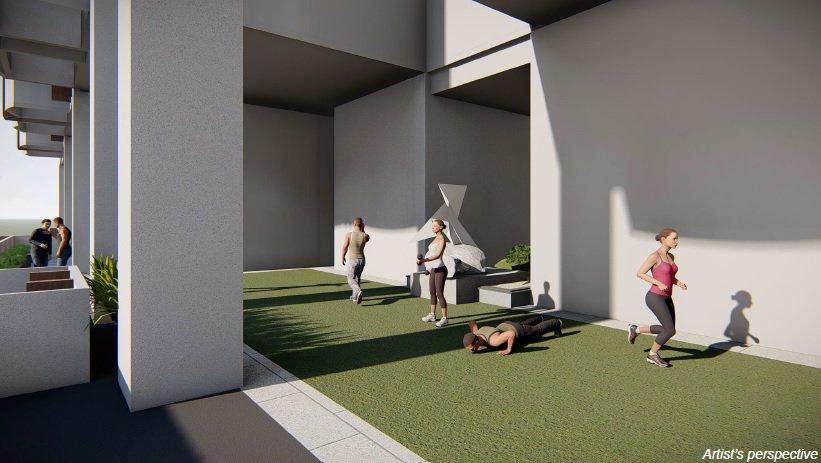 Grand Midori Ortigas - Exercise Lawn