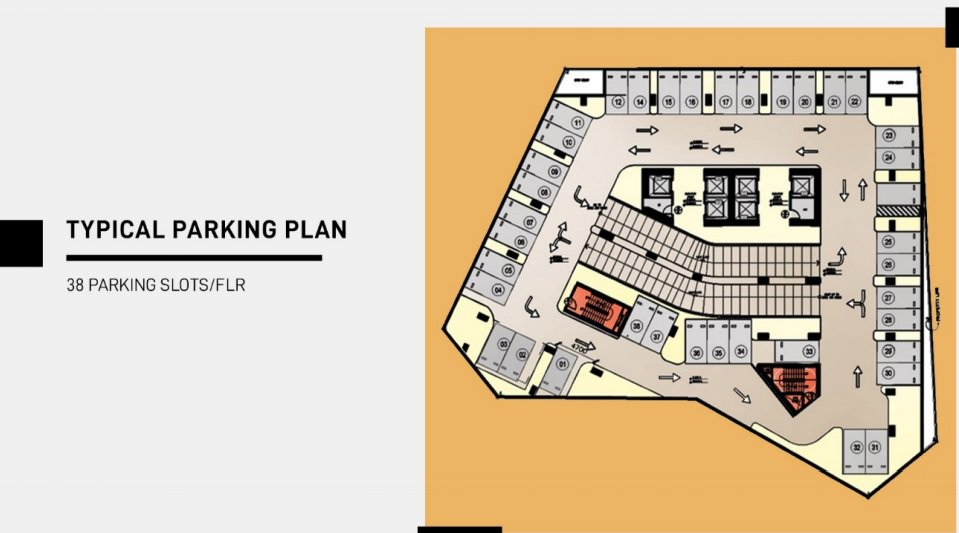 Morrison Heights Espana - Typical Parking Plan
