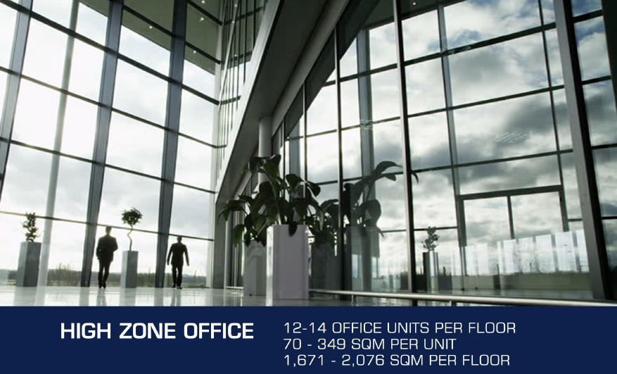 DDT Sky Tower - High Zone Office