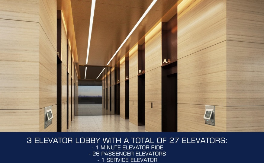 DDT Sky Tower - Elevator Lobby Area