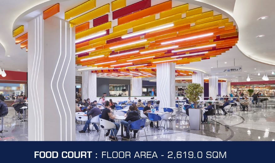 DDT Sky Tower - Food Court Area