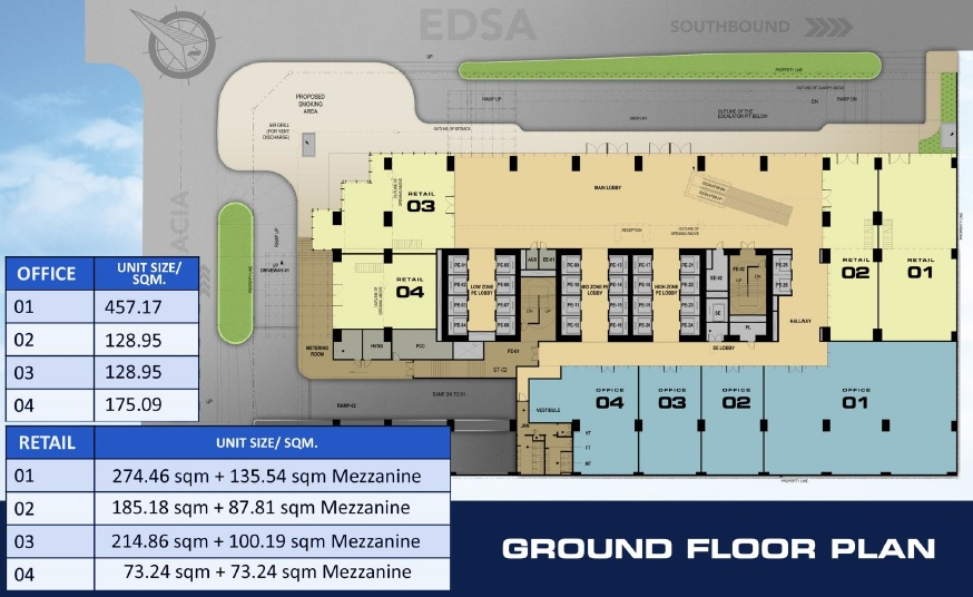 DDT Sky Tower - Ground Floor Plan