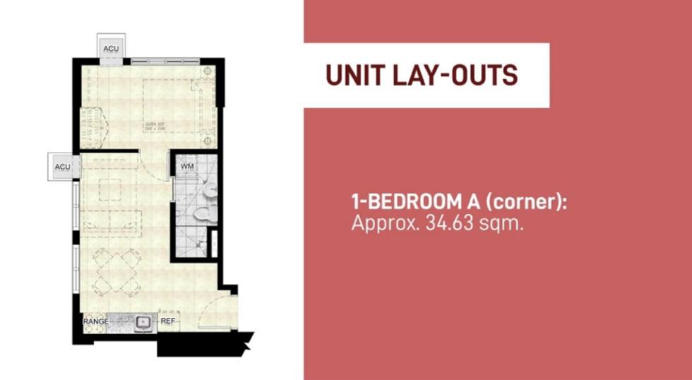 Encore South Triangle - 1 Bedroom Unit (Corner)
