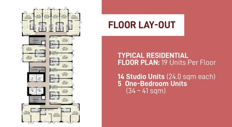 Encore South Triangle - Typical Floor Plan