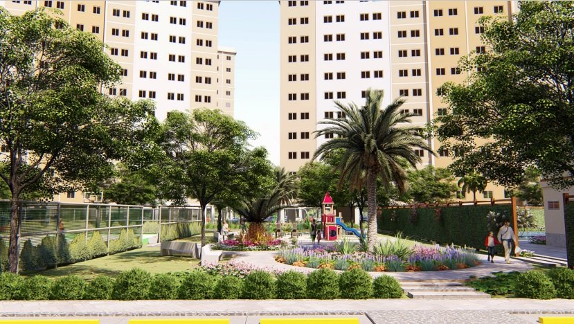 The Camden Bataan COHO - Garden Area