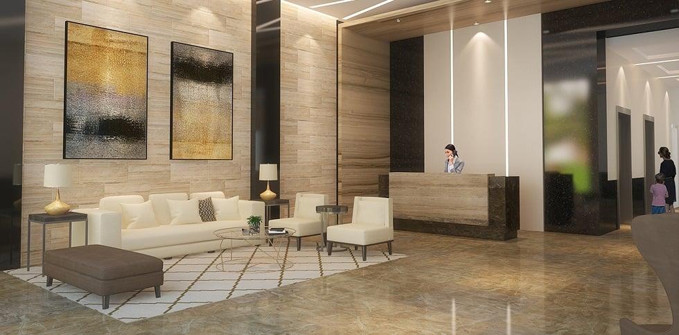 Kingsquare Residence - Reception Lobby