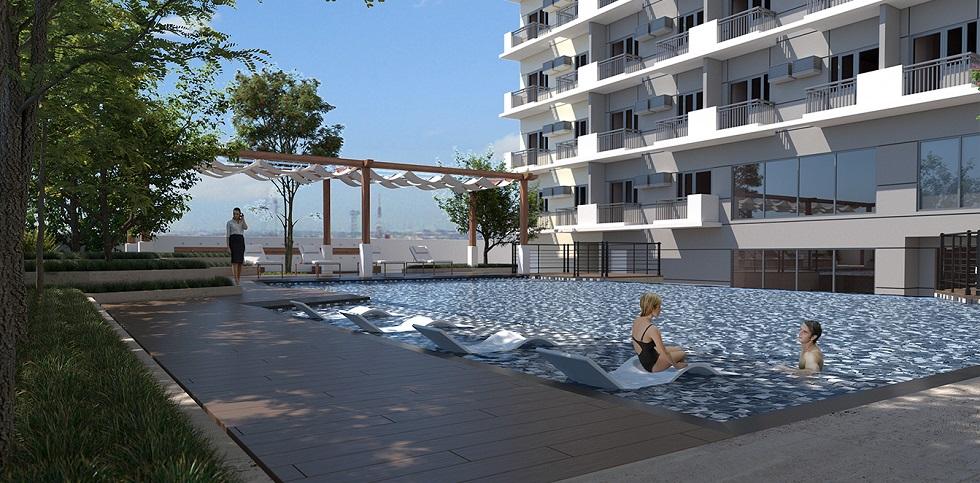 Kingsquare Residence - Pool Lounge